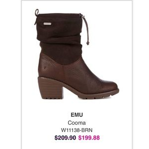 EMU waterproof fur lined NEW boots